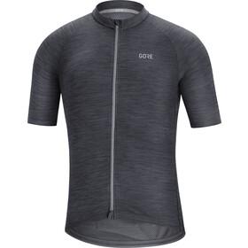 GORE WEAR C3 Koszulka rowerowa z zamkiem błyskawicznym Mężczyźni, czarny